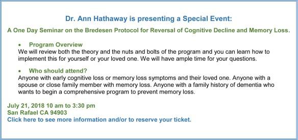 Bredesen seminar announcement page 1